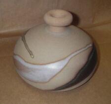 Vase moderne - Terre cuite vernisée - signée et numerotée - soliflore