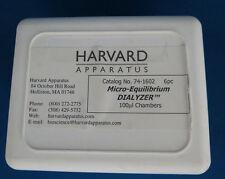 Qty 6 Harvard Micro-Equilibrium DIALYZER 100ul Chamber #741602 Teflon