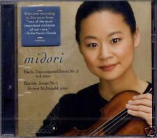 Midori-Bach sonate no. 2/Bartók sonate no. 1 (nouveau)