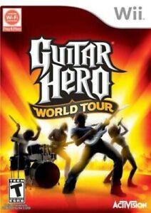Guitar Hero: World Tour - Nintendo  Wii Game