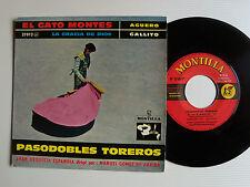 GRAN ORQUESTA ESPANOLA : Pasodobles toreros - EP 08/1960 BARCLAY MONTILLA 27012