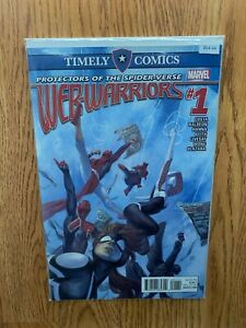 Timely Comics Web Warriors #1 High Grade Marvel Comic Book B64-44