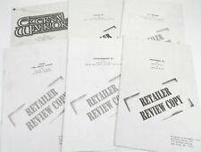 Lot of (6) Retailer Review Comic Lot Turok, X-O Manowar, Shadowman #1, Eternal W