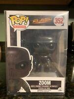 Funko Pop! Zoom New Flash CW Dc Comics Rare Protector Hard To Find