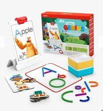 Osmo - Little Genius Starter Kit for iPad - 4 Hands-On Learning Games - BNIB