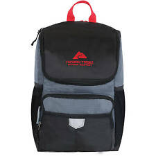 Ozark Trail 24-Can Beer/Soda Thermal Insulated Cooler Backpack Black & Grey NEW!