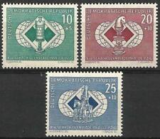 Germany (East) DDR 1960 MNH - Chess Olympiad Leipzig Rook Knight
