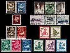 ✔️ NETHERLANDS 1950 - COMPLETE YEAR SET - NVPH 549/567 ** MNH OG CV 209.00 EURO