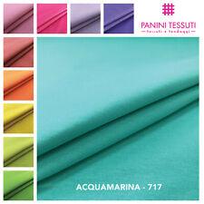 Tessuto stoffa MISTO COTONE Tinta Unita AL METRO H=280cm arredo divano cuscini