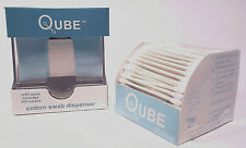 Qtip QUBE Cotton Swab Dispenser with 200 count Swab Pack