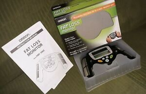 OMRON HBF-306C Handheld Body Fat Loss Monitor complete with box