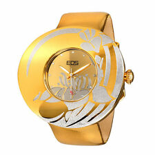 EOS New York W53SGOLDSIL Jasmin Gold Piel Oro Mujer Reloj