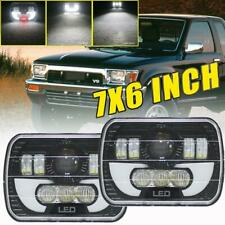 "5x7"" 7x6'' LED Headlight with H4 Harness for 95-97 Toyota Tacoma & 88-95 Pickup"