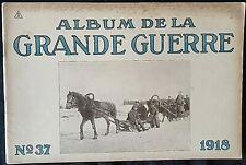 Album imprimé en  photographié en noir et blanc en édition allemand N°37 1918 A5