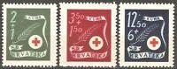 DR Nazi Croatia Rare WWII Stamp 1941 Red Cross N.D.Hrvatska Soldiers Legion War2