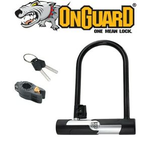 Onguard Bike Bicycle Locks Og U-Lock 106 X 200Mm Carry Bracket Included