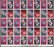 2x 1996 EASTER SEALS Sheets Stickers Cinderella Stamps MNH Labels