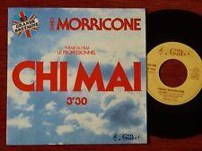 45T BOF/OST LE PROFESSIONNEL - CHI MAI - ENNIO MORRICONE - 8018008 - 1978