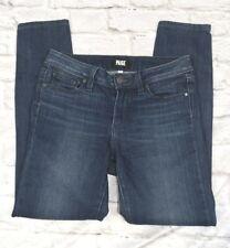 Paige Premium Denim 27 Dark Wash Ultra Skinny Stretch Denim Jeans 27 X 27