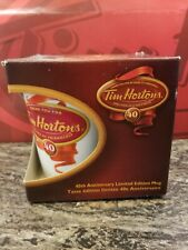 Tim Hortons 40th Anniversary Mug - 2004 Limited Edition Coffee Cup - 004