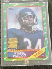 2001 Topps Walter Payton Chicago Bears #WP11 1986 Reprint Football Card