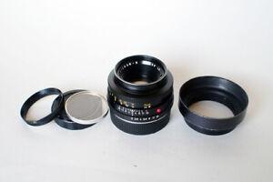 Leitz Wetzlar R  Summicron  50mm f 2   cam2