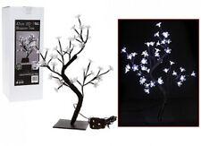 45cm LED Cherry BLOSSOM TREE Xmas Christmas Light Warm White Indoor Outdoor
