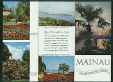Mainau Die Blumeninsel im Bodensee 1960 Fotos Informationen Blumen