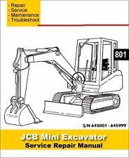 jcb 801 manual ebay. Black Bedroom Furniture Sets. Home Design Ideas
