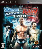 USED PS3 PlayStation 3 WWE Smackdown vs Raw 2011 10926 JAPAN IMPORT
