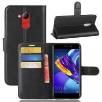Huawei Honor 6C Pro Custodia a Portafoglio Protettiva Cover wallet Case Nero