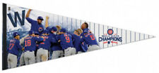 "MLB Chicago Cubs 17"" x 40"" Premium Pennant, 2016 World Series Champions, New"