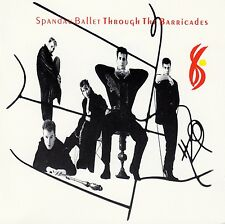 SPANDAU BALLET : THROUGH THE BARRICADES / CD (CBS RECORDS 450259 2) - NEU