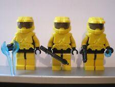 Lego HALO Trio Yellow SPARTAN MASTER CHIEF Minifig NEW