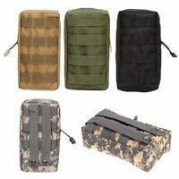 Tactical Molle Medical First Aid Bag Outdoor Piller Pouch Pocket Organizer Hot