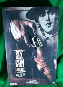 Billy The Kid 1:6 Scale Figure Sideshow Collectibles Six Gun Legends NIB Sealed