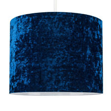 MiniSun Ceiling Lampshade Easy Fit Crushed Velvet Shade Non Electric Home Light