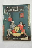Vintage THE AMERICAN HOME Magazine October 1943 Issue