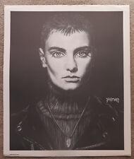 1990 Bradford Salamon Sinead O'connor 20 x 24 charcoal pencil poster print