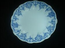 ROYAL CROWN DERBY  Blue / White 8 3/4 inch Plate RD No 116892 c1890