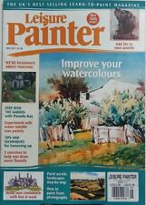 Leisure Painter UK May 2017 Improve Your Watercolours Pastels FREE SHIPPING sb