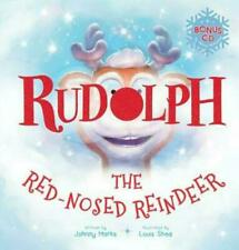 Rudolph The Red-nosed Reindeer CD by Johnny Marks Hardcover