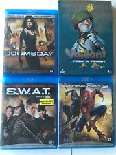 Lot DVD Blueray Vaillant, Doomsday, S.W.A.T., Spiderman 3