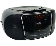 Bush KBB500 CD radio cassette boombox-Noir Argent