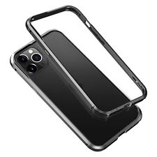 Luxury Slim Aluminum Metal Armor Bumper Case Cover For iPhone 12 Mini Pro Max