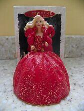 Hallmark 1993 Holiday Barbie Christmas Ornament