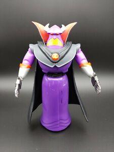 """2015 Evil Emperor Zurg Talking Figure Mattel 7.5"""" Disney Pixar Tested, works!"""