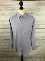 TED BAKER Shirt - Size 15.5 - Lilac - Great Condition - Men's
