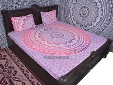 Rosa Ombre Mandala Deko Wandtuch Indisch Boho Überwurf Wandbehang 100% Baumwolle
