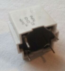 Encapsulated Pulse Transformer with high voltage isolation.